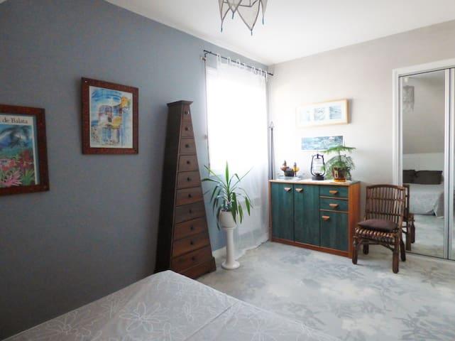 Chambre + petit dèj près d'angers - Cantenay-Épinard - Casa