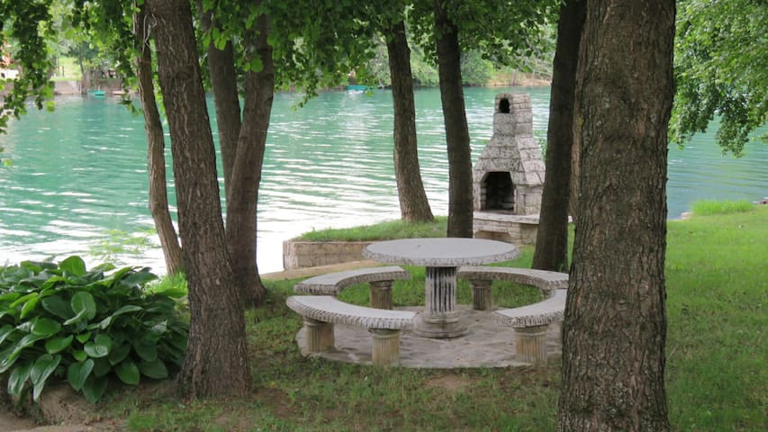 "Rest House ""Lohovo"" on the riverside -Bihac"