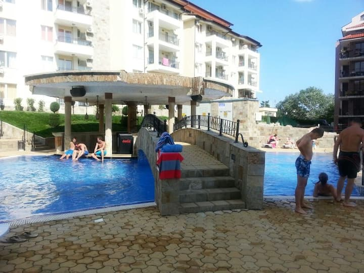 Two Bedroom Apartment,in complex Sunny Beach Hills