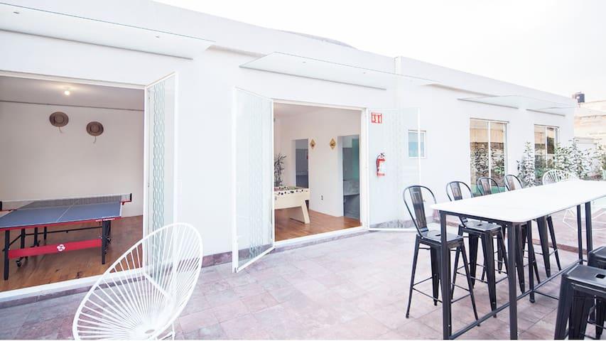 Habitación Compartida 20 camas a 5 min BellasArtes