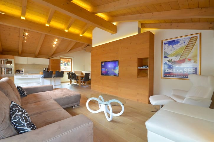 Apartment Diana - modern duplex penthouse, 200m to skilift, close to the Zeller Lake