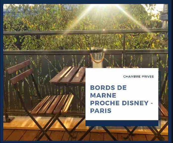 Proche Disney, bords de Marne
