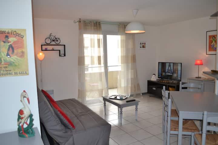 Blagnac: Appartement T3 (5 personnes) résidentiel