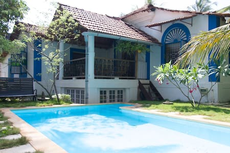 MANGA Heritage Villa with Pvt pool - North Goa