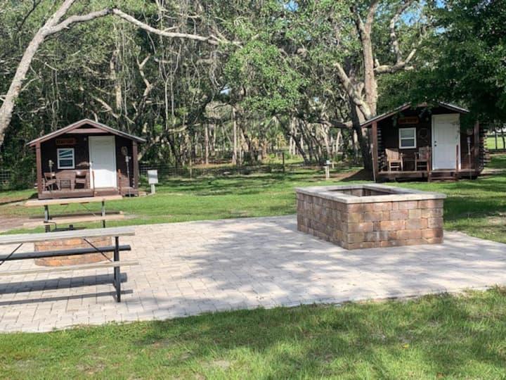 John Wayne Cabin on a Northeast Florida Ranch