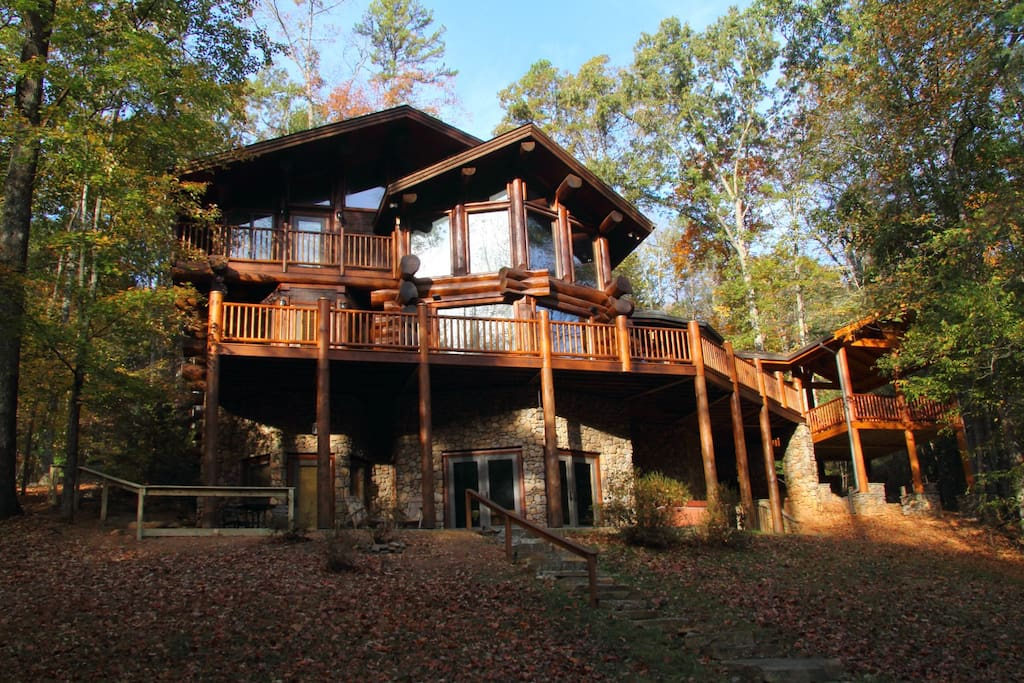 Toccoa Riverfront Book By Bedroom Rates Cabins For Rent In Blue Ridge Georgia United States