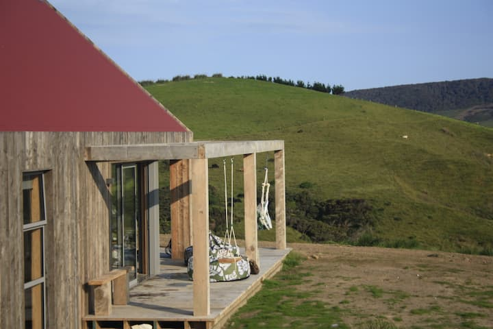 Tiroroa - our barn with an 'extensive view'