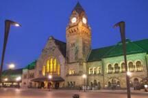 Illumination de la gare de Metz
