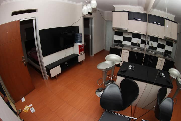 Cozy & Minimalis 2 BedRoom Apartment in Cibubur