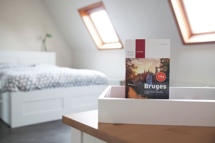 Spacious room in the historic center - Bruges