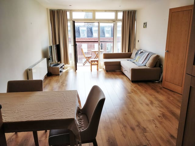 Beautiful 1 bed apartment with balcony in centre