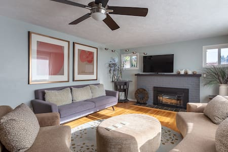 🍃Giant Fenced Backyard🍃Pet Friendly🍃King Bed🍃