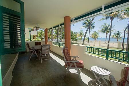 Beachfront Private Oasis - Luquillo