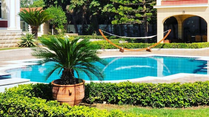 Villa Dolphin. Luxury Villa on the Beach
