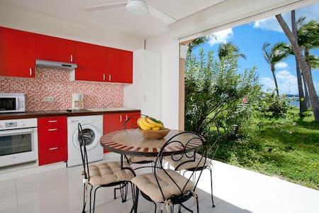 Studio à la Baie Nettle dans Complexe Hôtelier - Les Terres Basses - Apartamento