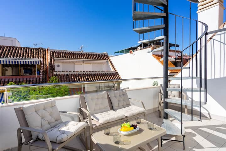Sought after penthouse in Los Boliches SOHO