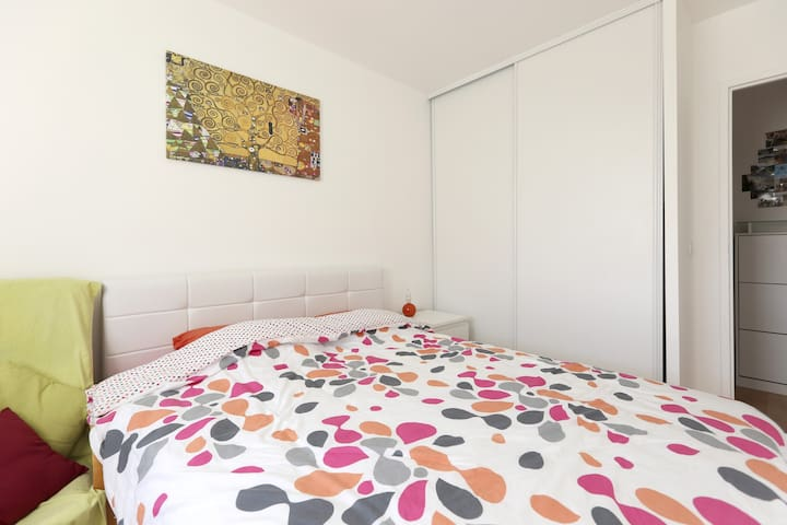 2 rooms with balcony-3mn from Paris - Ivry-sur-Seine - Appartamento
