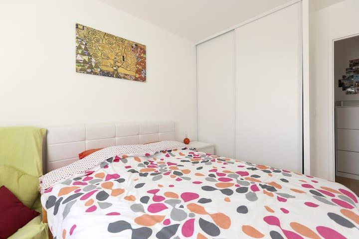 2 rooms with balcony-3mn from Paris - Ivry-sur-Seine - Apartamento