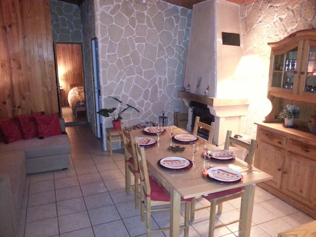 Chalet montagne. Hamacs,verger.Alpes.Promo!Station - Theys - Chalet