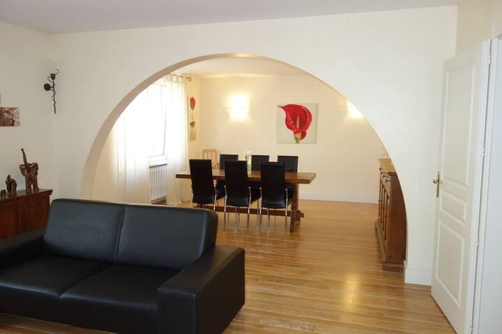 Appartement 130m² Centre Ville Wifi Gratuit