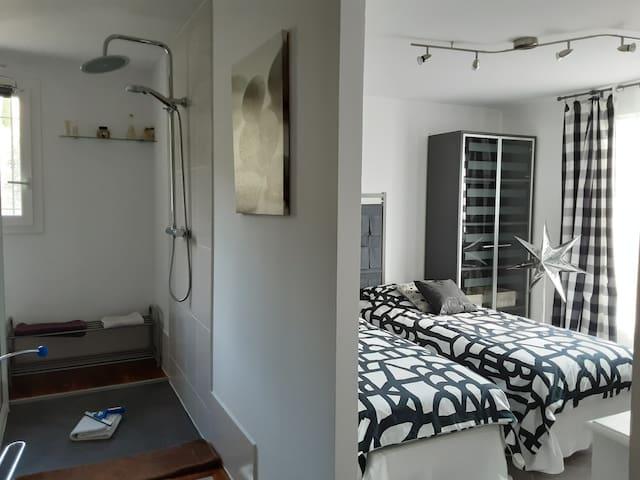 Chambre avec possibilité lits séparés