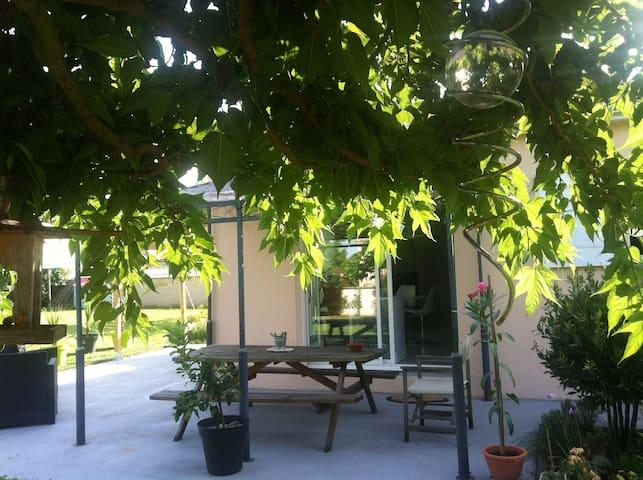 Maison calme avec jardin - Nercillac - บ้าน