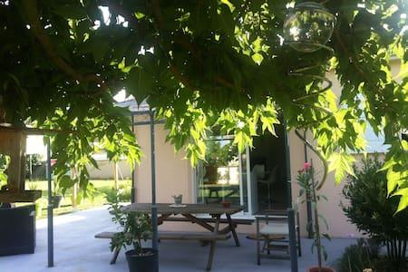 Maison calme avec jardin - Nercillac