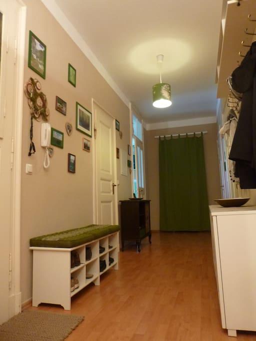 Willkommen in unserer Wohnung!