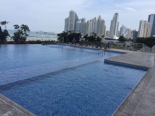 Nice bedroom, high floor apartment - Panamá - Apartmen