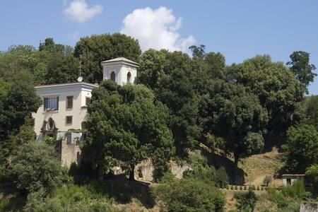 VILLA IL PINCIO - la suite azzurra - Villa