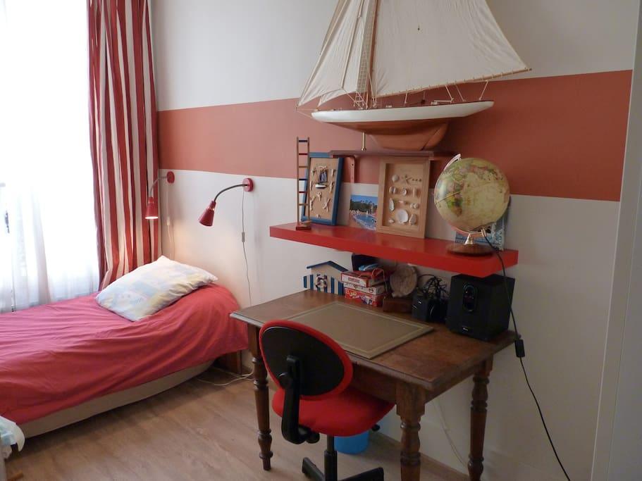 Votre chambre sur le thème des vieux gréments.