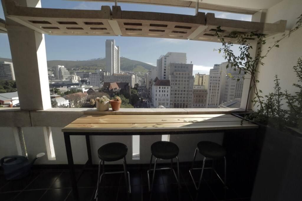 Balcony Table & Seating