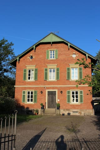 Ferienwohnung im Forsthaus - Steigerwald