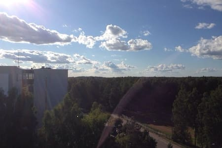 Spacious apartment with great views - Vantaa
