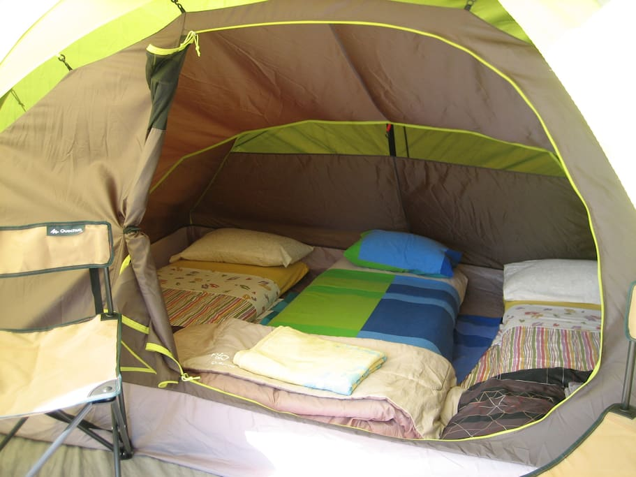 Various Versions of Tents