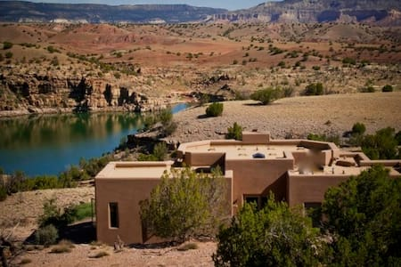 Luxury Custom Abiquiu Lake Home, 2bdr/2bth, A/C, - Abiquiu - Huis