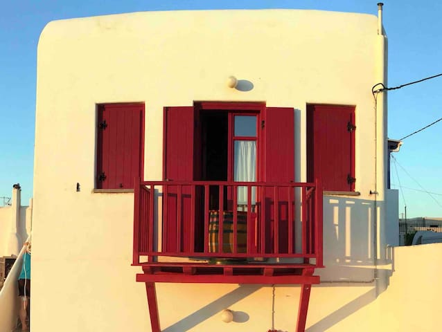 House in chora, kythnos greece 1st floor