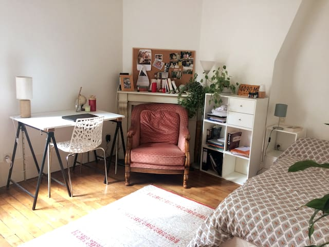 Charming studio in Quartier latin