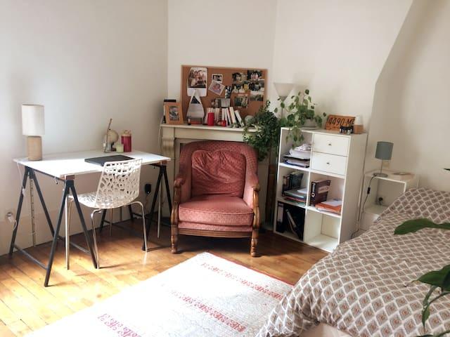 Charming studio in Quartier latin