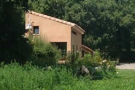 Duplex de 40 m2 près d'une rivière - Saint-Alban-Auriolles - Ev