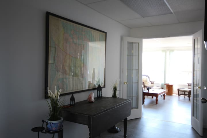 Hallway to the Sunroom