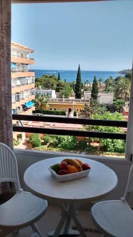 Studio, sea view , 3mins to  beach! - Illes Balears - Apartament