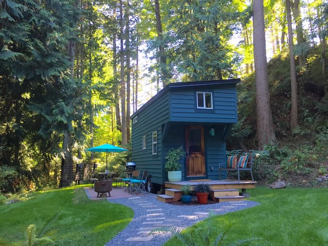 Tiny House on Guemes Island, WA. - Anacortes - Hus