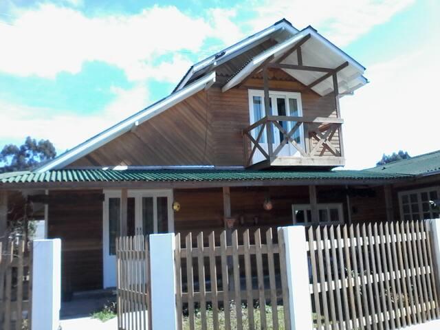 Um lugar de descanso - Urubici - House