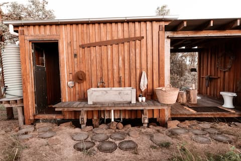 The natural remedy to modern life  Bloodwood Cabin