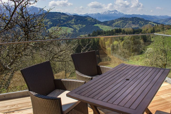 Apartment with a mountainview for 4 - Weyregg an Attersee - Apartamento