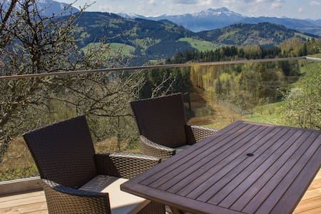 Apartment with a mountainview for 4 - Weyregg an Attersee - Lakás