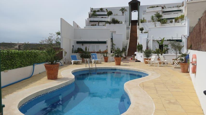 Apartment for 2-4 people, 700m away from the beach - Cuevas del Almanzora - Apartemen