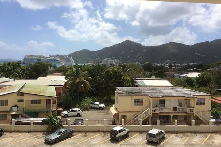 Couch surf for solo backpackers - Tortola - Apartemen