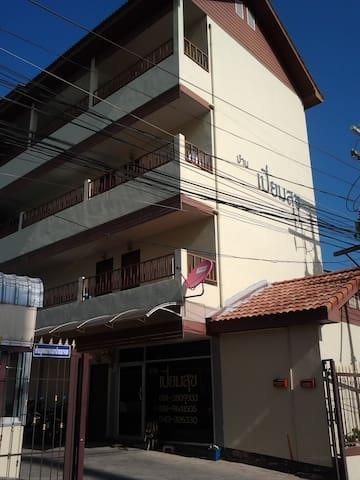 บ้านเปี่ยมสุขใกล้ม.ศรีปทุมขก.400บ./วัน 3,700บ./ด. - Khon Kaen - Lejlighed